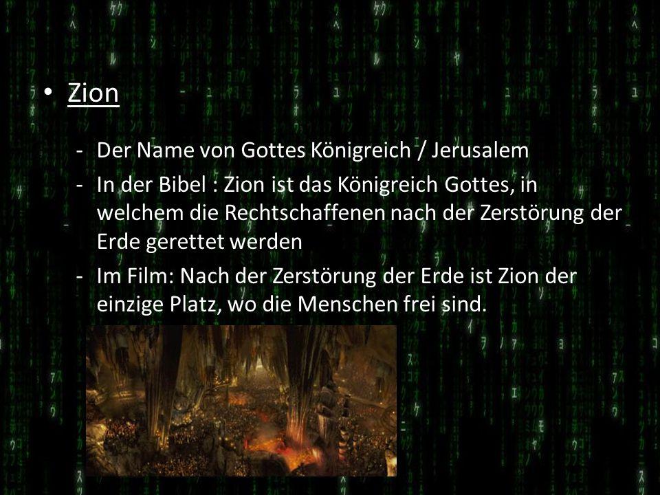 Zion Der Name von Gottes Königreich / Jerusalem