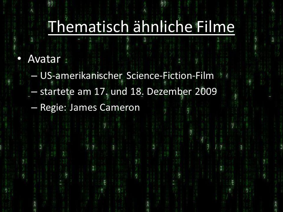 Thematisch ähnliche Filme