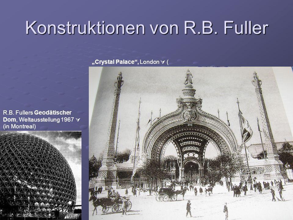 Konstruktionen von R.B. Fuller