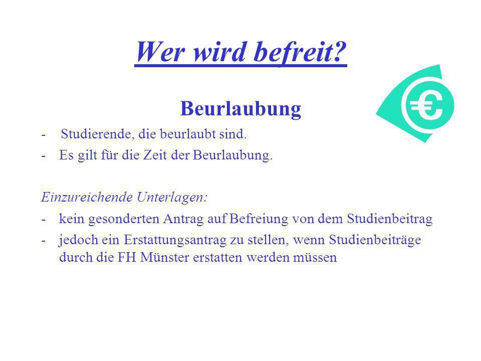 Befreiungen/Ermäßigungen von Studiengebühren - ppt herunterladen