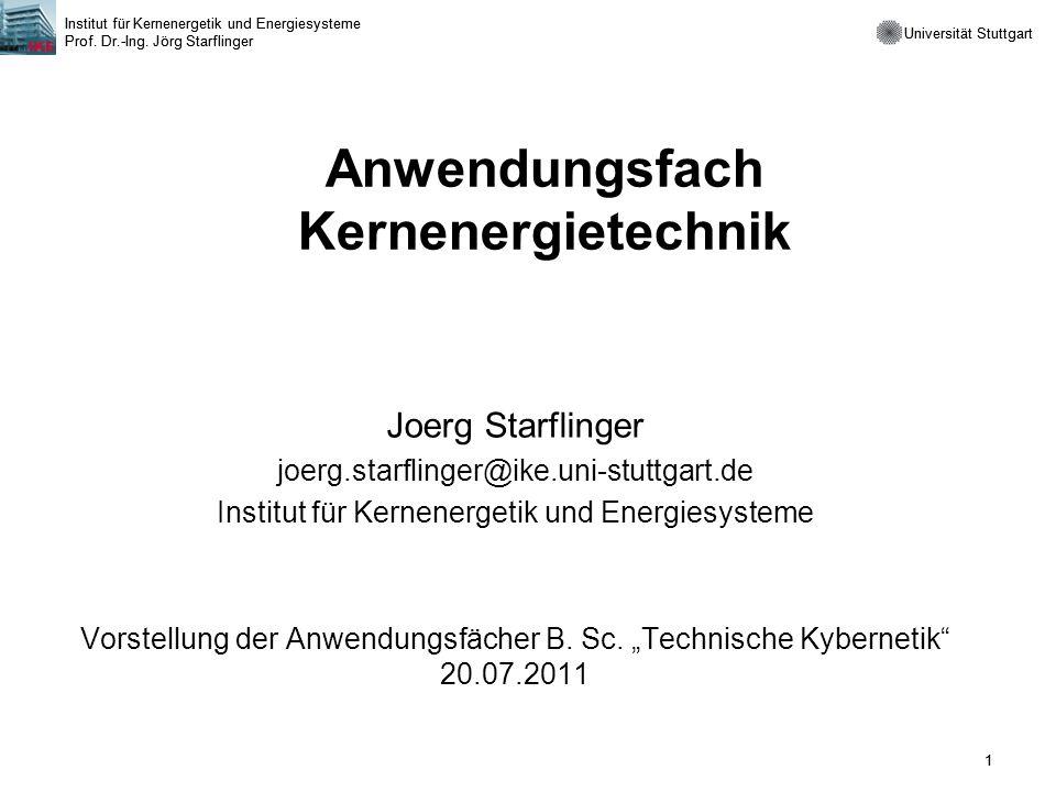 Anwendungsfach Kernenergietechnik