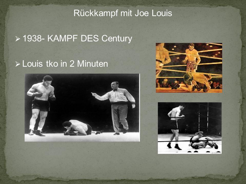 Rückkampf mit Joe Louis