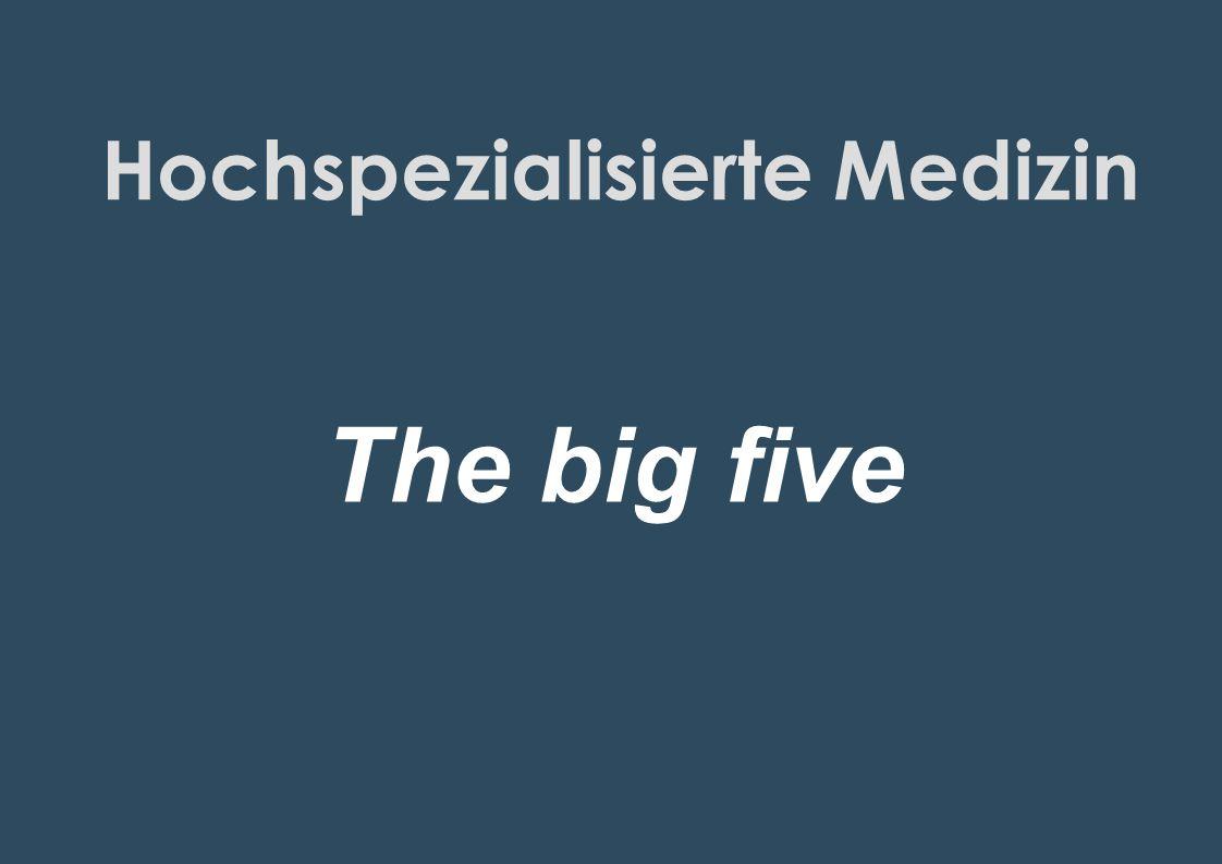 Hochspezialisierte Medizin
