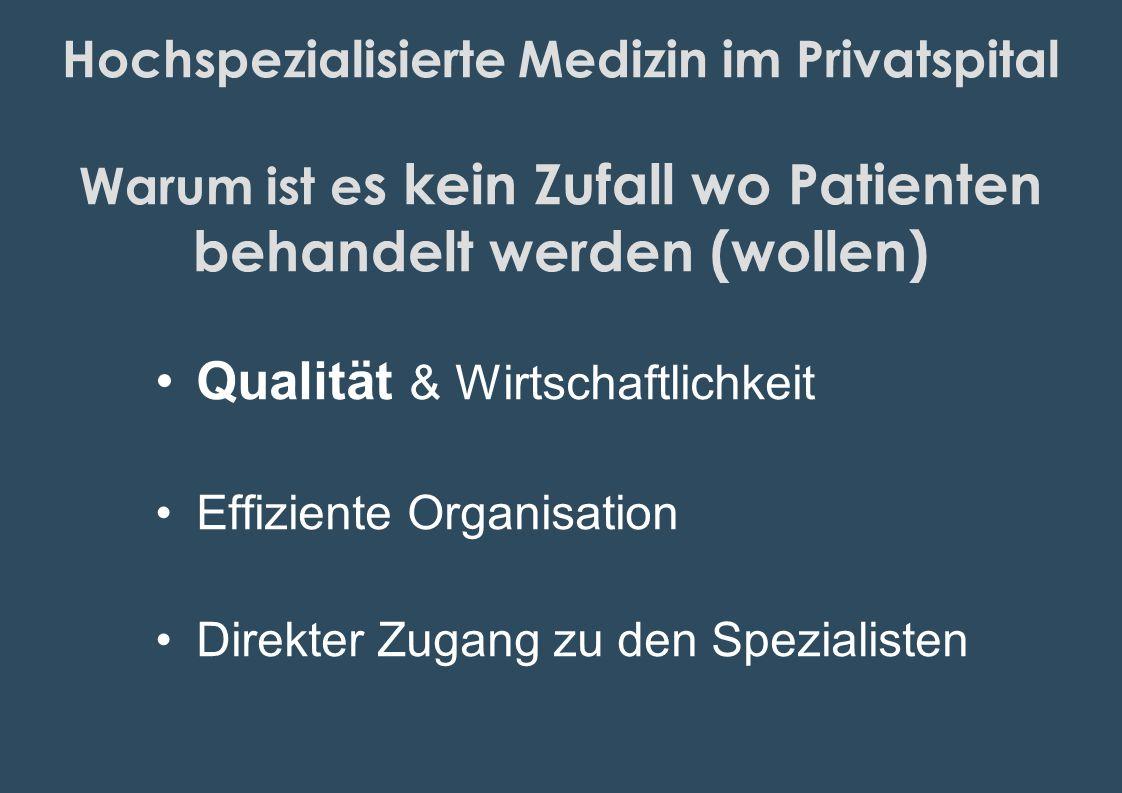 Qualität & Wirtschaftlichkeit