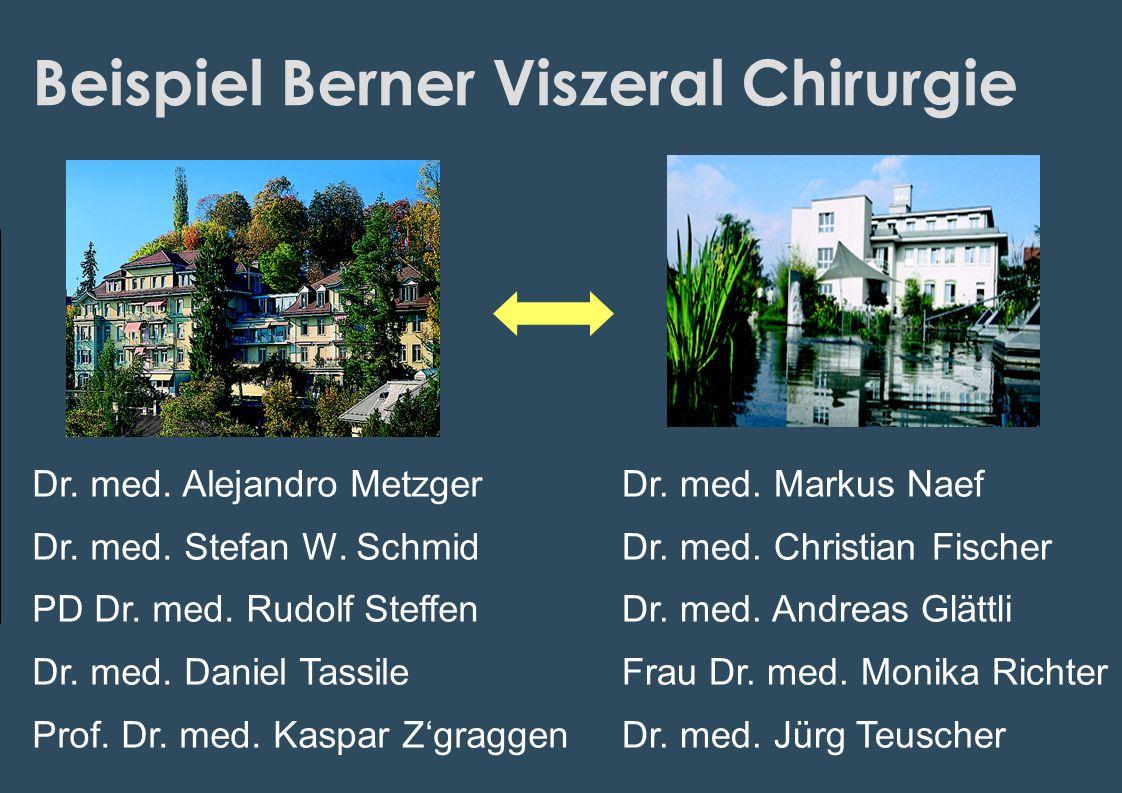 Beispiel Berner Viszeral Chirurgie