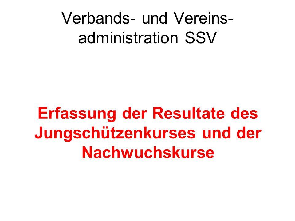 Verbands- und Vereins- administration SSV