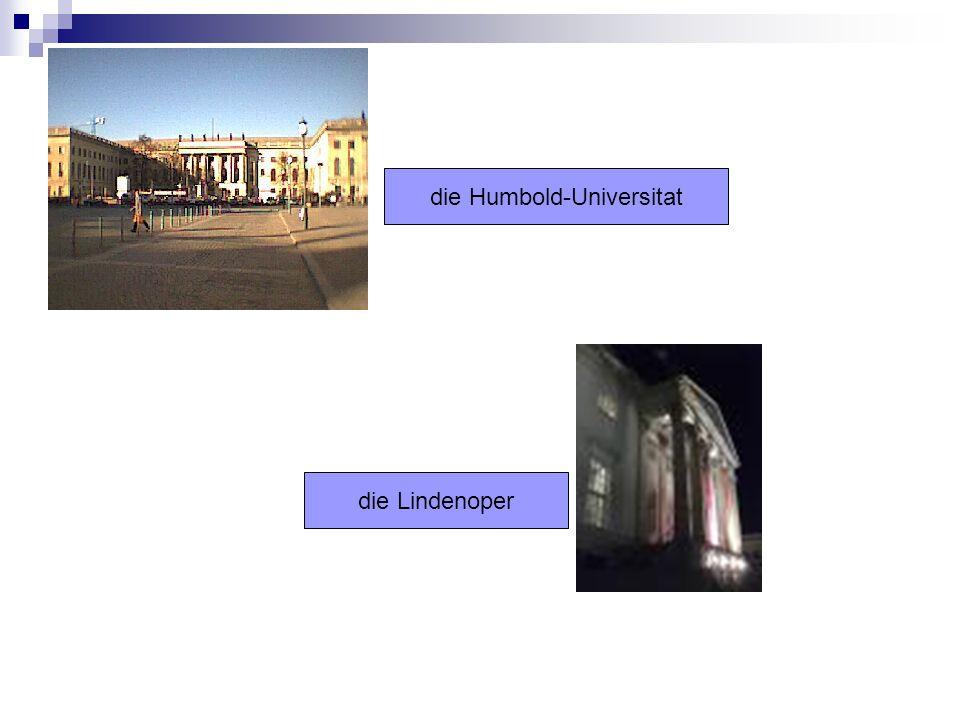 die Humbold-Universitat