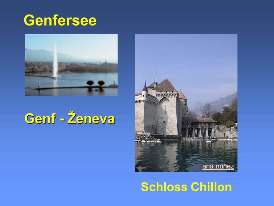 Genfersee Genf - Ženeva ana núñez Schloss Chillon
