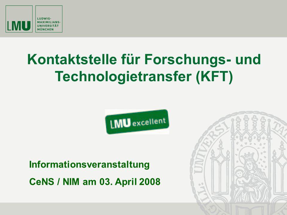 Kontaktstelle für Forschungs- und Technologietransfer (KFT)