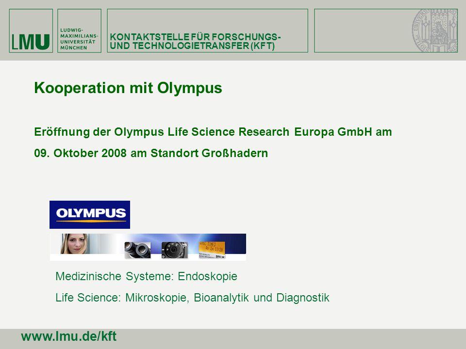 Kooperation mit Olympus