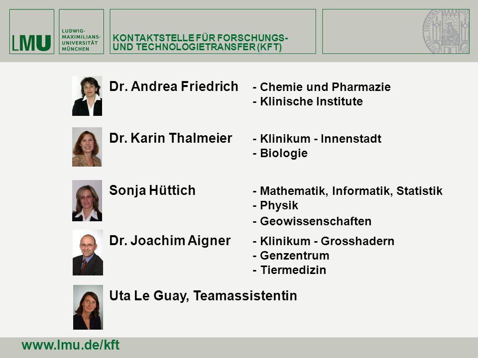 Dr. Andrea Friedrich - Chemie und Pharmazie - Klinische Institute
