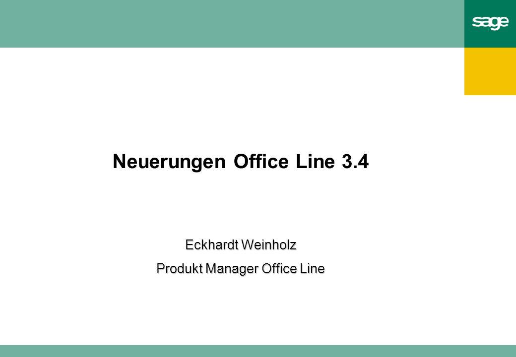 Neuerungen Office Line 3.4