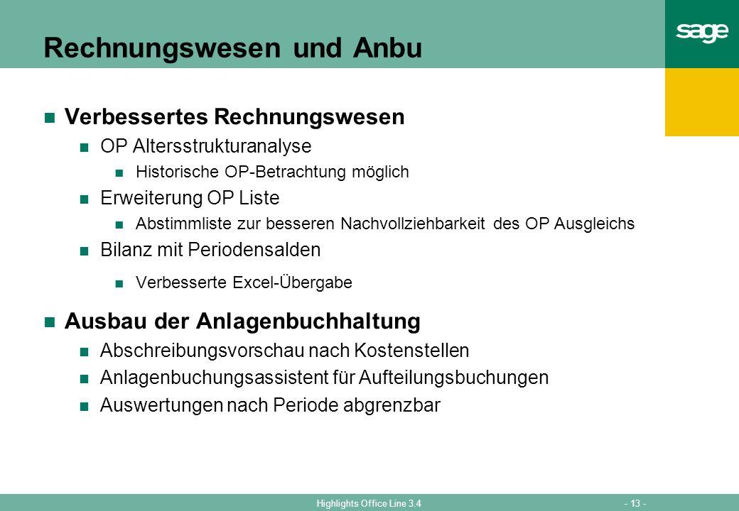 Rechnungswesen und Anbu