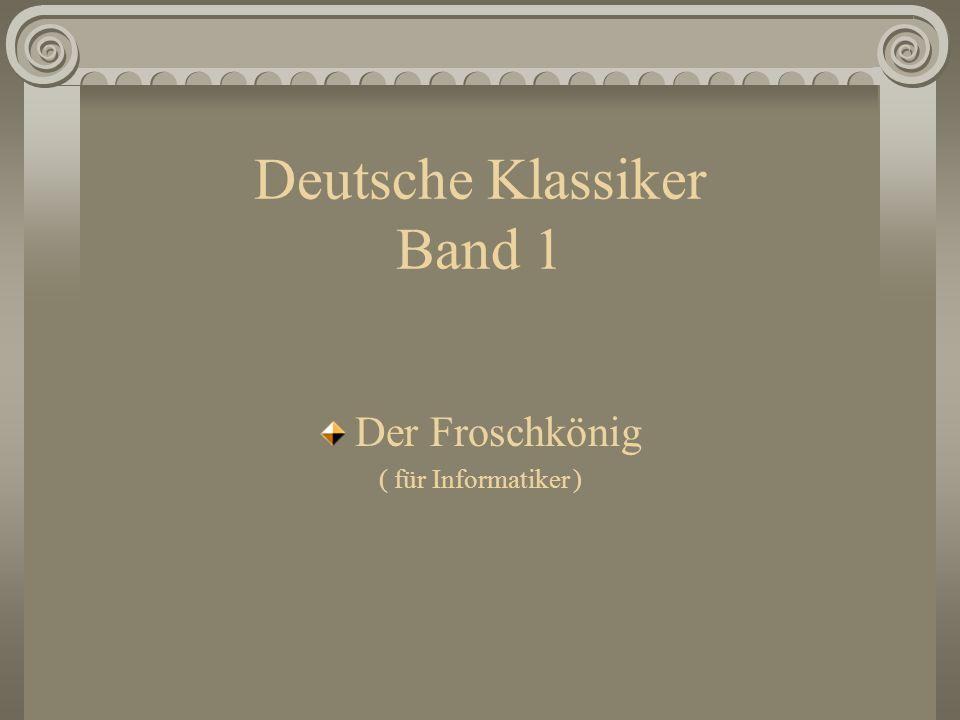 Deutsche Klassiker Band 1