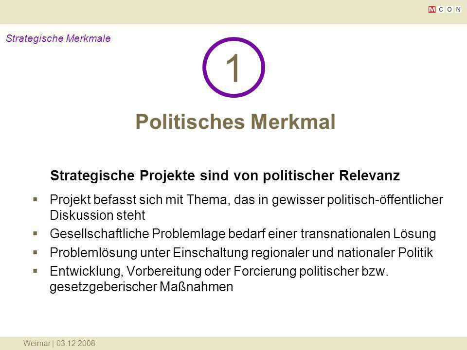 Strategische Merkmale
