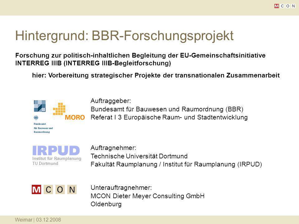 Hintergrund: BBR-Forschungsprojekt