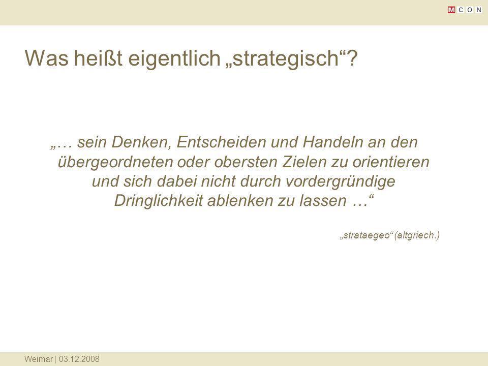 """Was heißt eigentlich """"strategisch"""