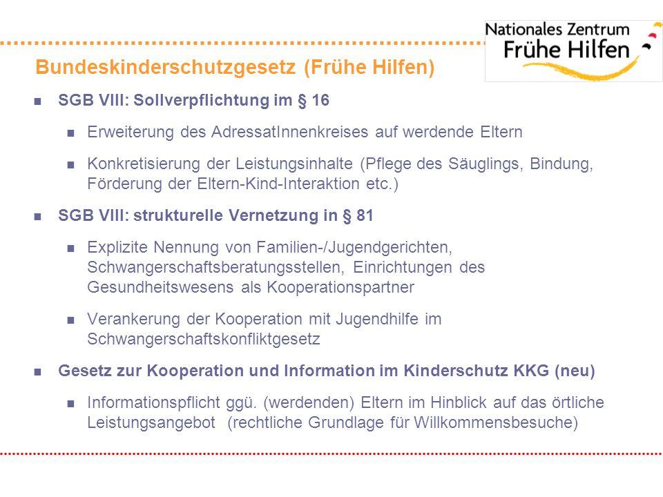 Bundeskinderschutzgesetz (Frühe Hilfen)
