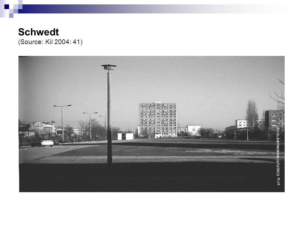 Schwedt (Source: Kil 2004: 41)