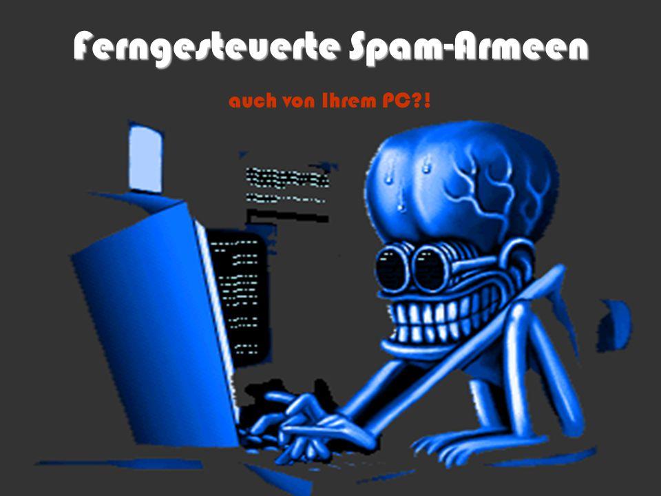 Ferngesteuerte Spam-Armeen