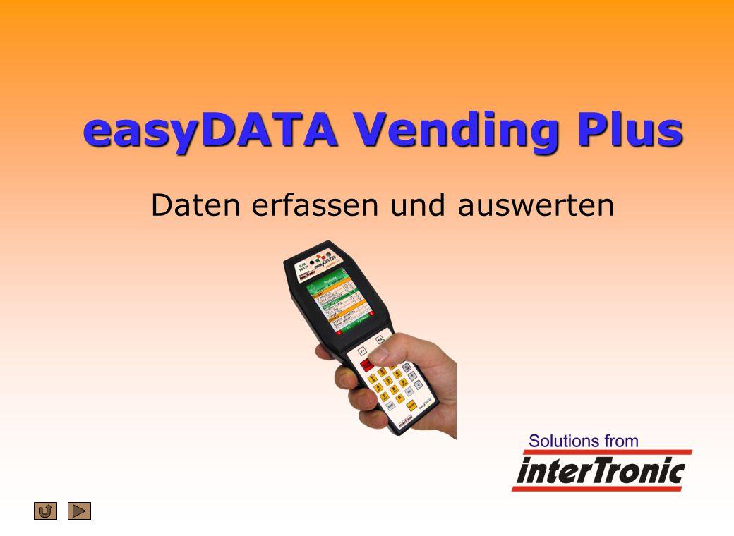 easyDATA Vending Plus Daten erfassen und auswerten