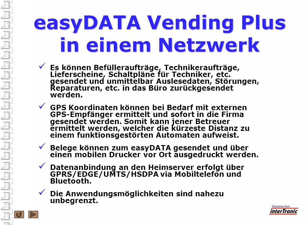 easyDATA Vending Plus Daten erfassen und auswerten - ppt herunterladen