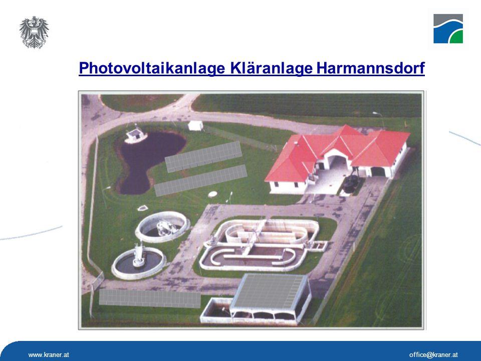 Photovoltaikanlage Kläranlage Harmannsdorf