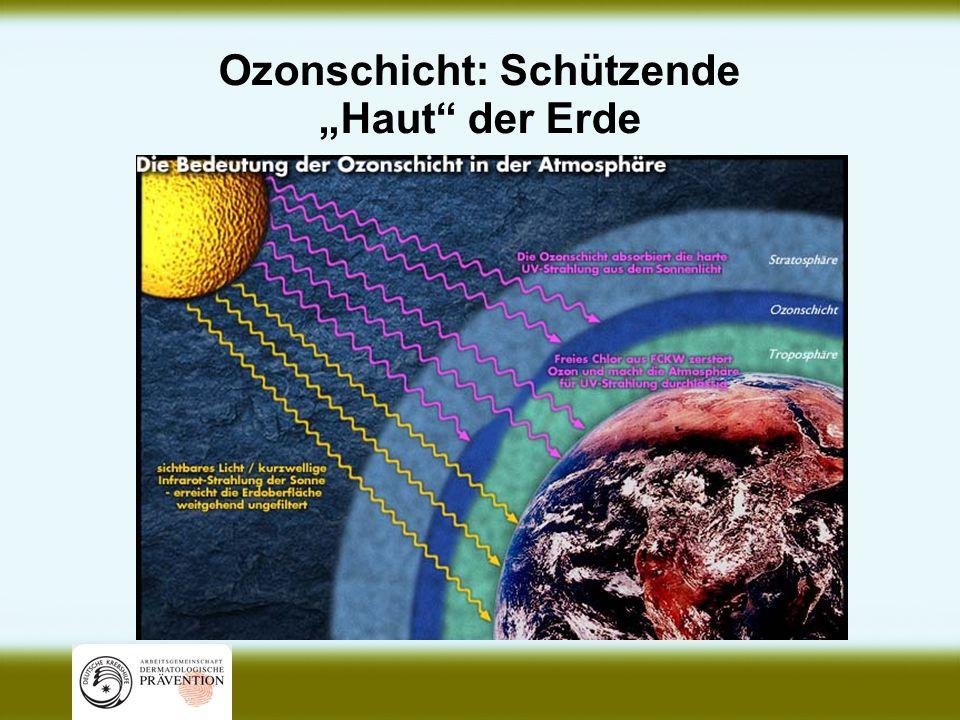 """Ozonschicht: Schützende """"Haut der Erde"""