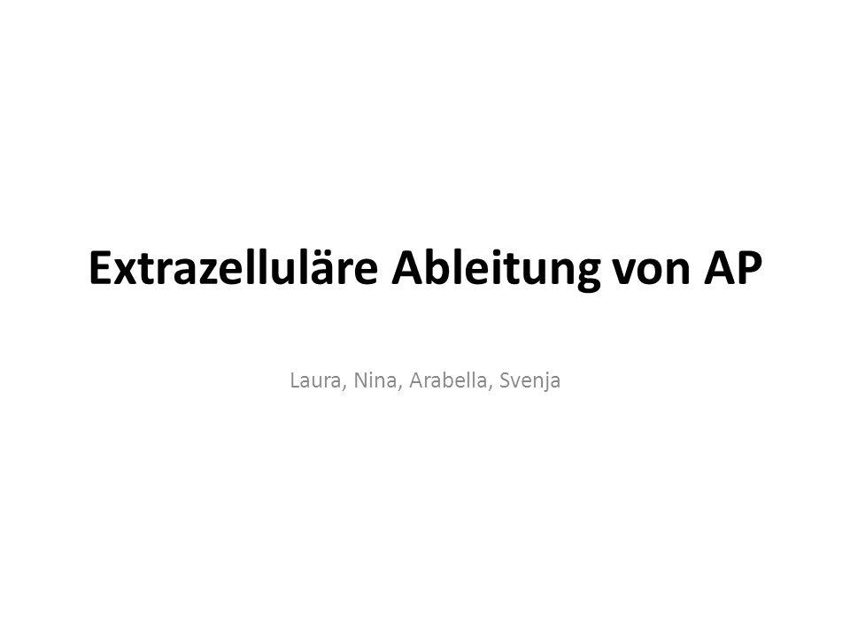 Extrazelluläre Ableitung von AP