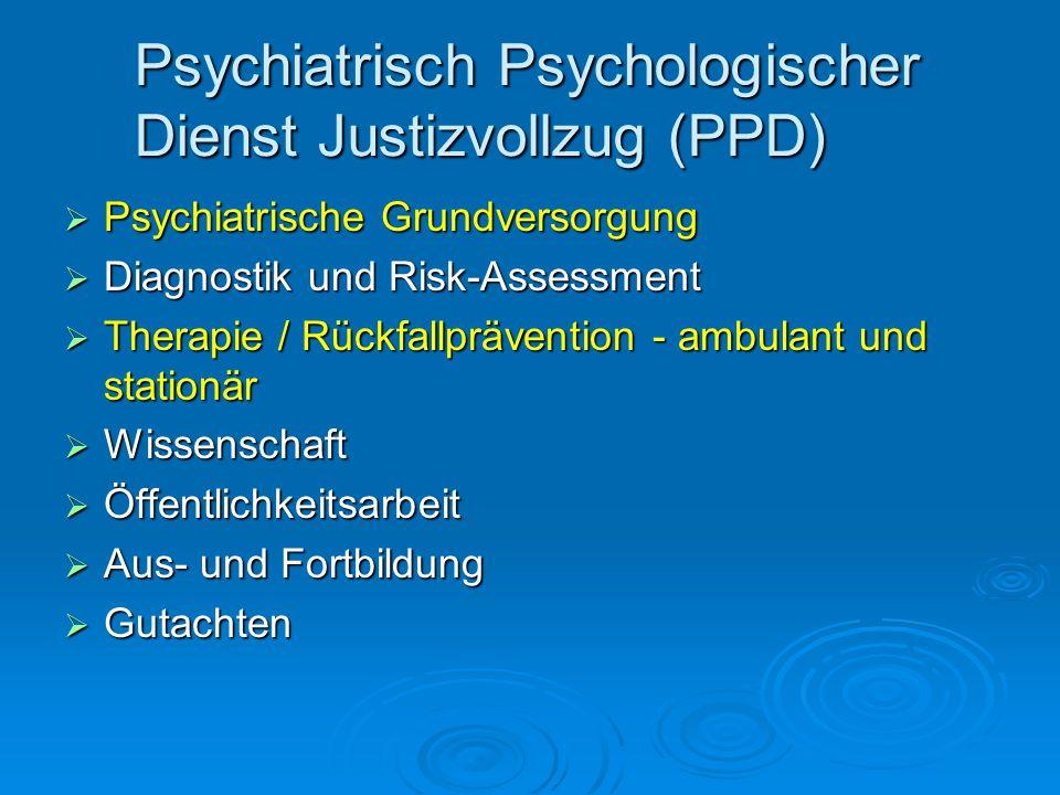 Psychiatrisch Psychologischer Dienst Justizvollzug (PPD)