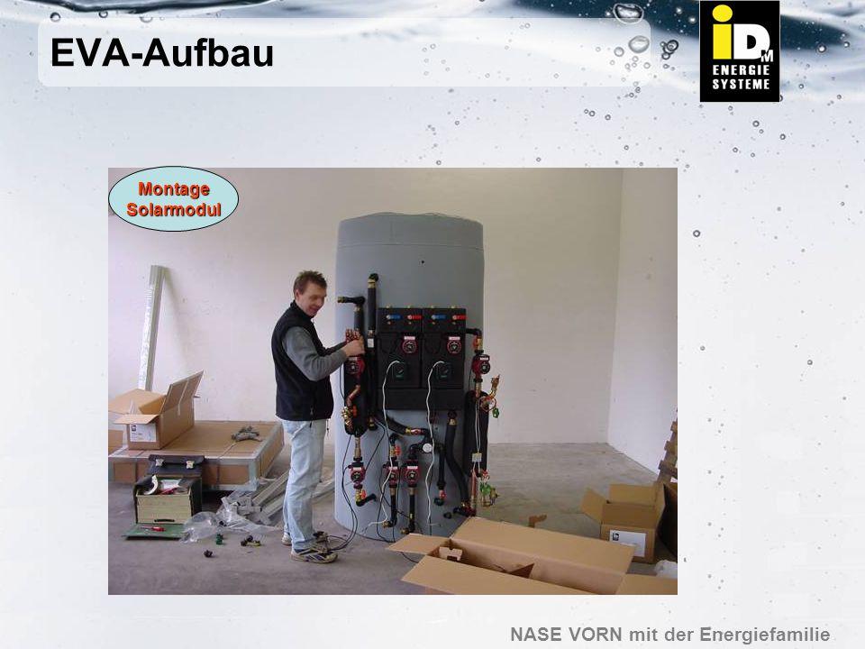 EVA-Aufbau Montage Solarmodul