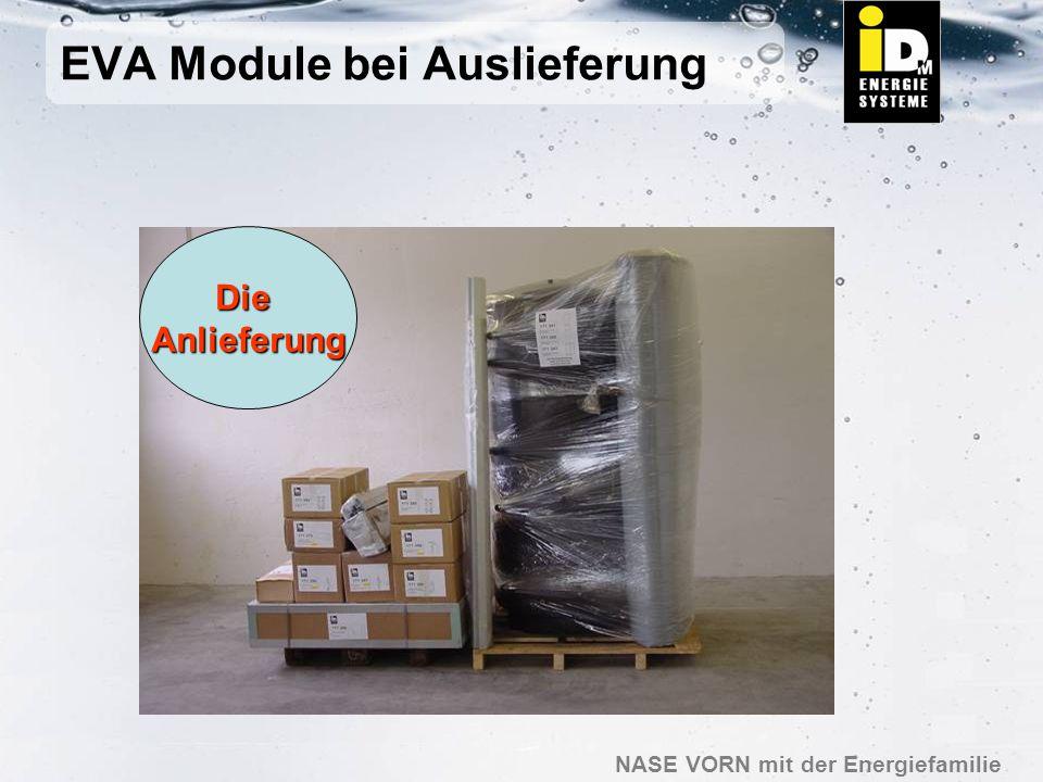 EVA Module bei Auslieferung