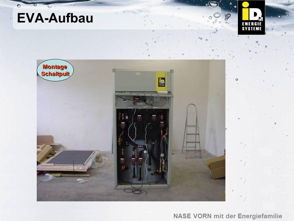 EVA-Aufbau Montage Schaltpult