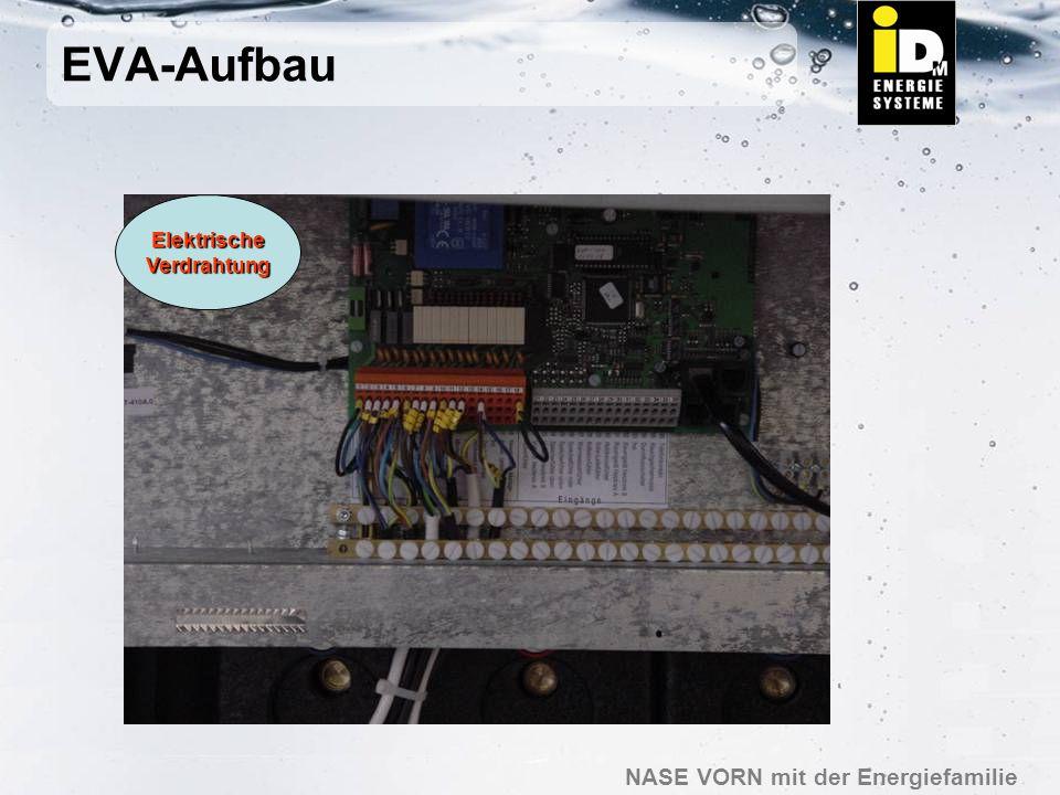 EVA-Aufbau Elektrische Verdrahtung