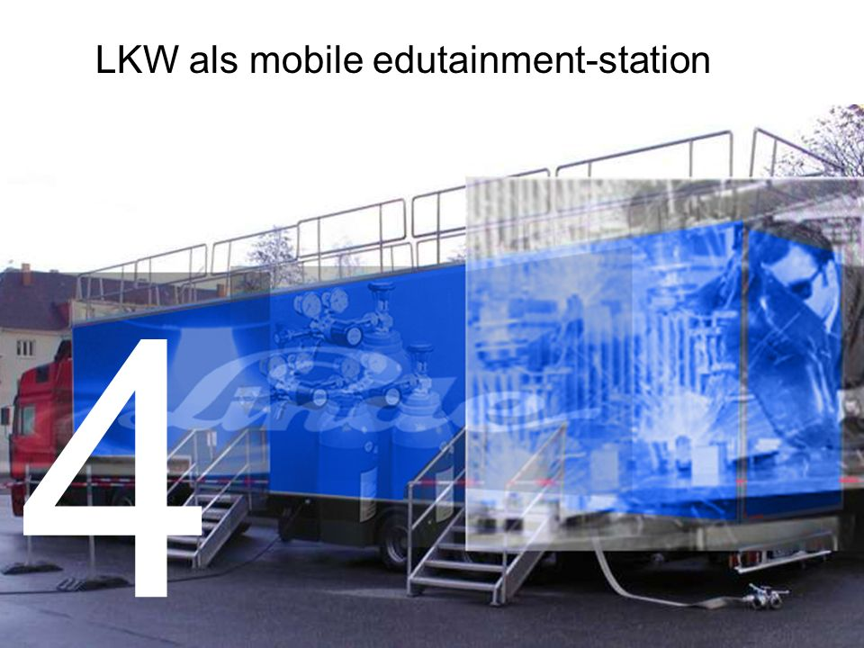 LKW als mobile edutainment-station