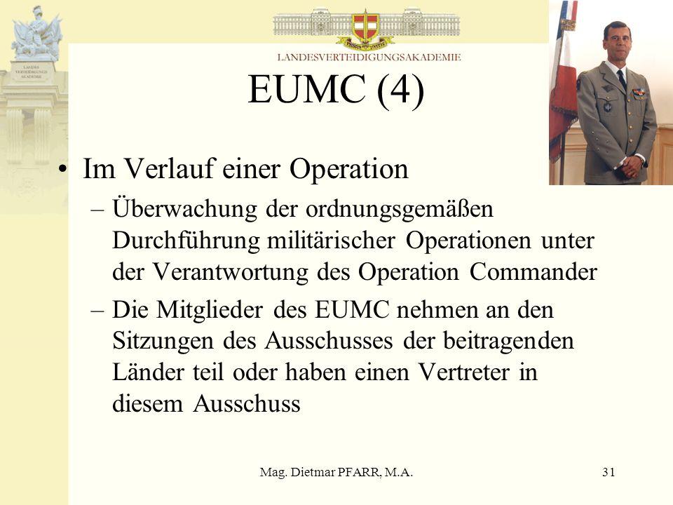 EUMC (4) Im Verlauf einer Operation