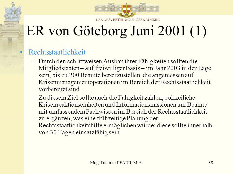ER von Göteborg Juni 2001 (1) Rechtsstaatlichkeit