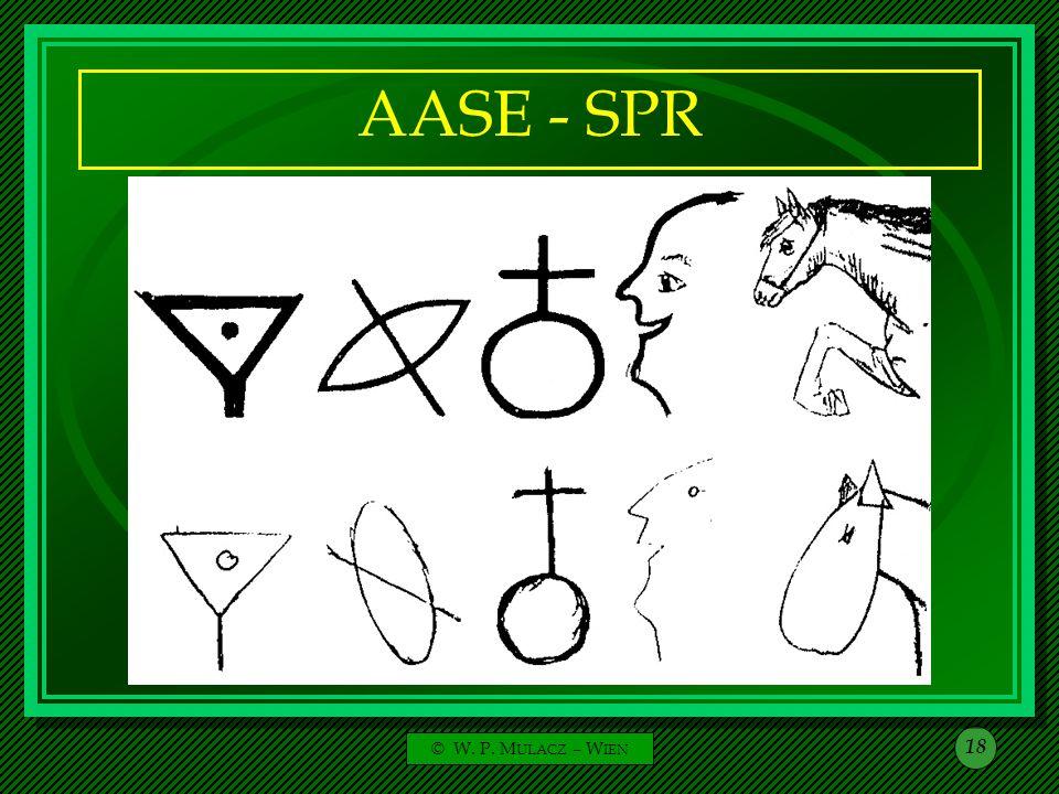 AASE - SPR © W. P. MULACZ – WIEN