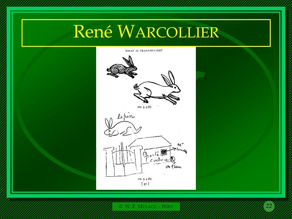 René WARCOLLIER © W. P. MULACZ – WIEN