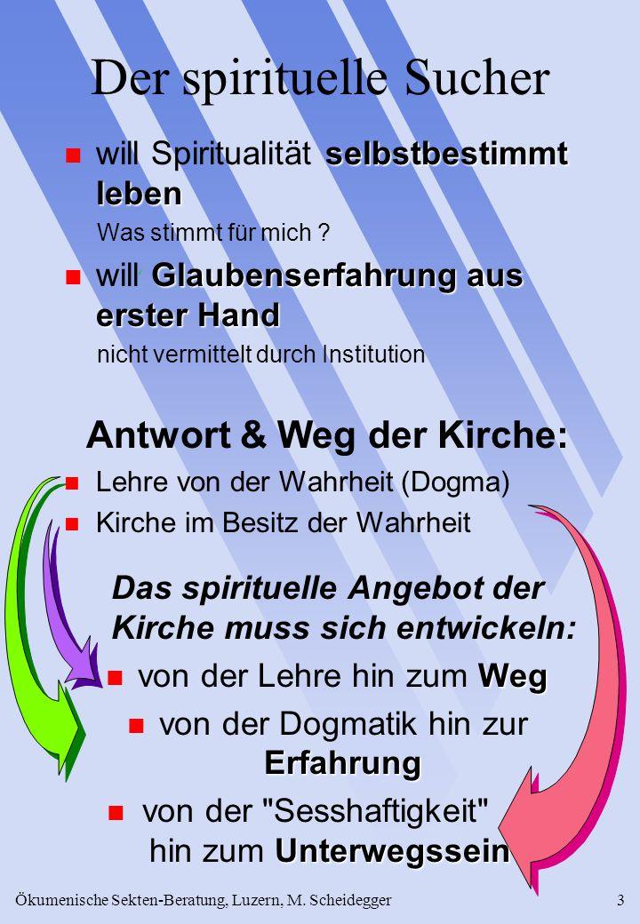 Der spirituelle Sucher