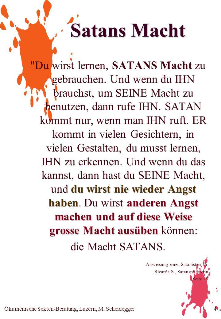 Satans Macht