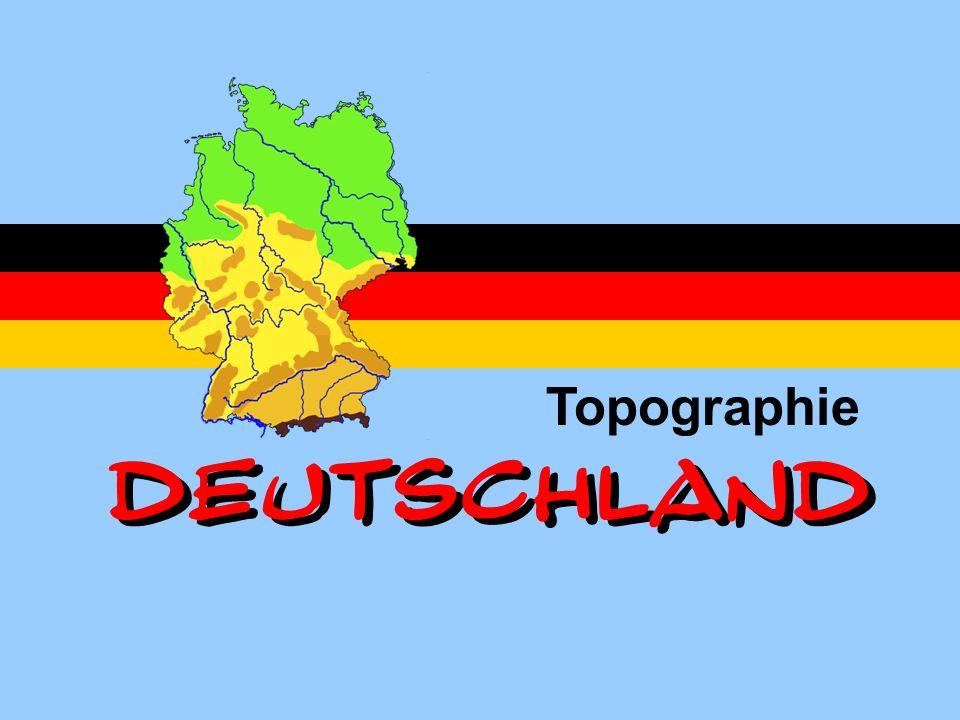 Topographie DEUTSCHLAND DEUTSCHLAND