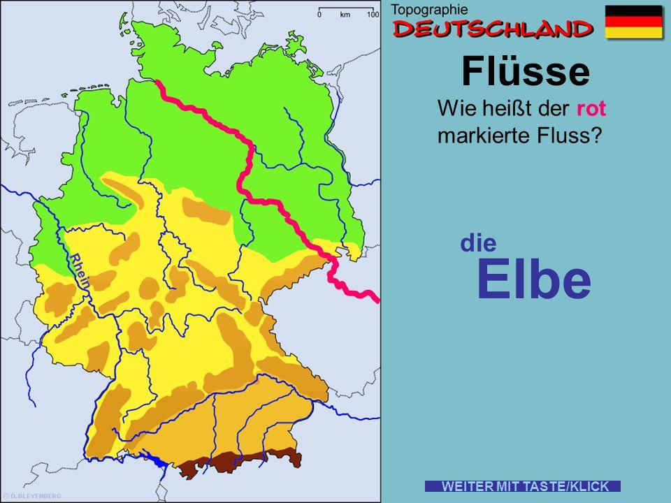 Elbe Flüsse die Wie heißt der rot markierte Fluss Rhein
