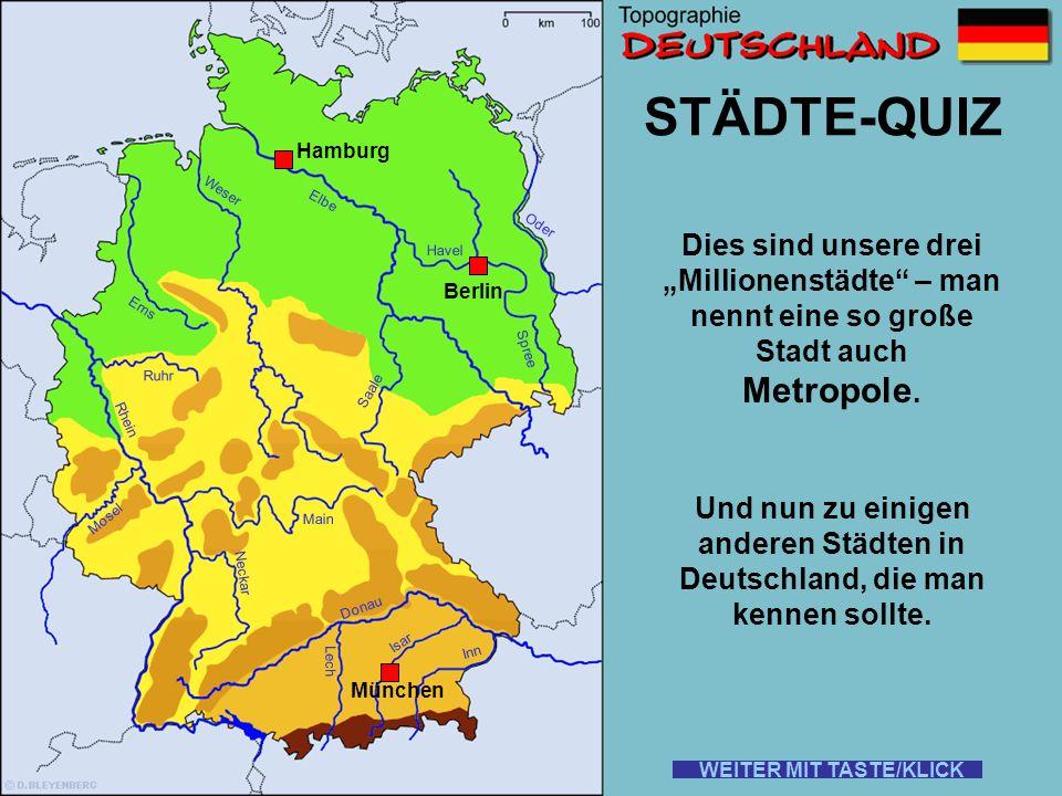 STÄDTE-QUIZ Metropole.