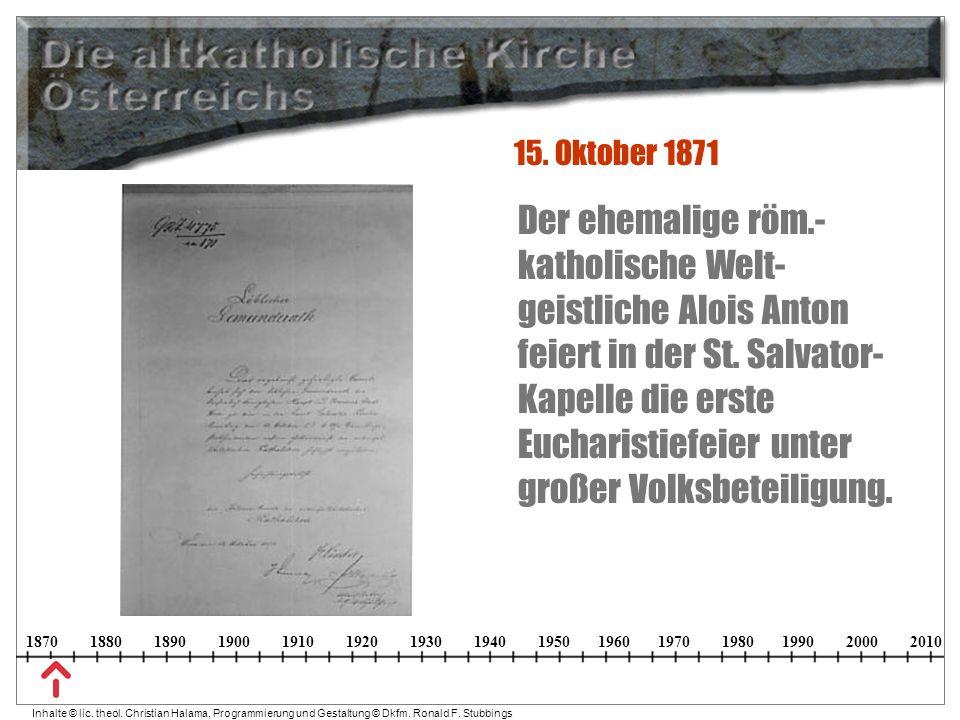 15. Oktober 1871