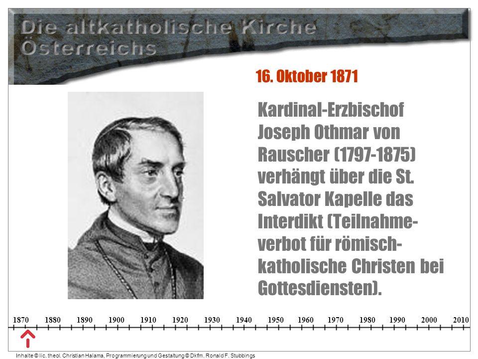 16. Oktober 1871