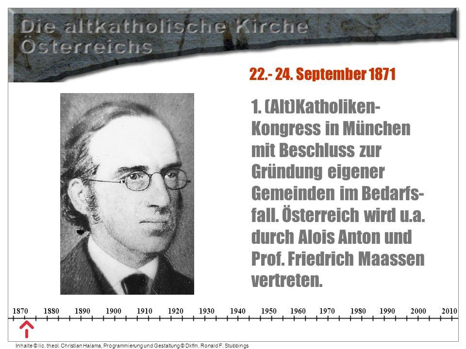 22.- 24. September 1871