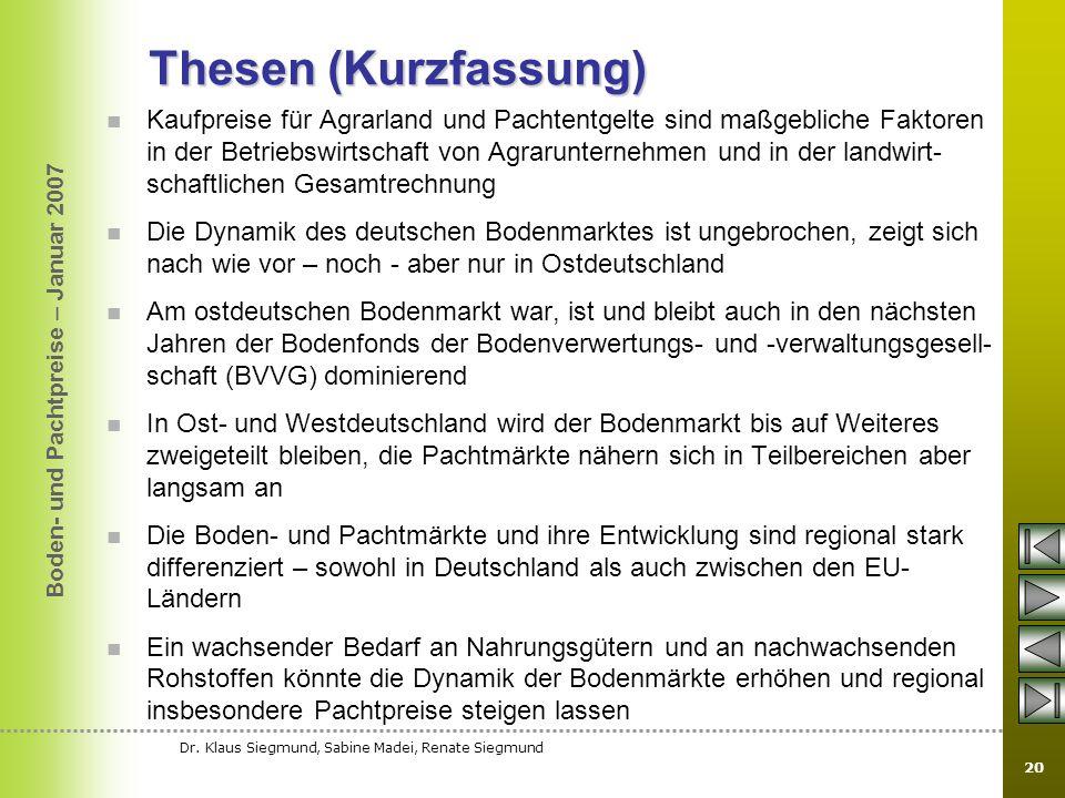 Thesen (Kurzfassung)