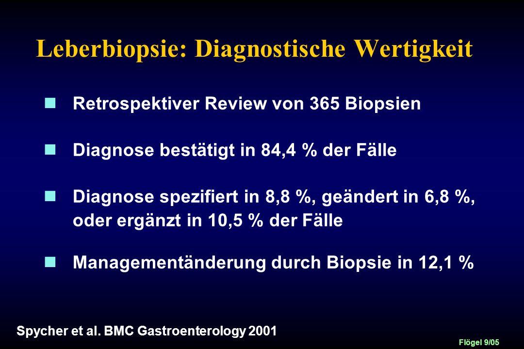Leberbiopsie: Diagnostische Wertigkeit