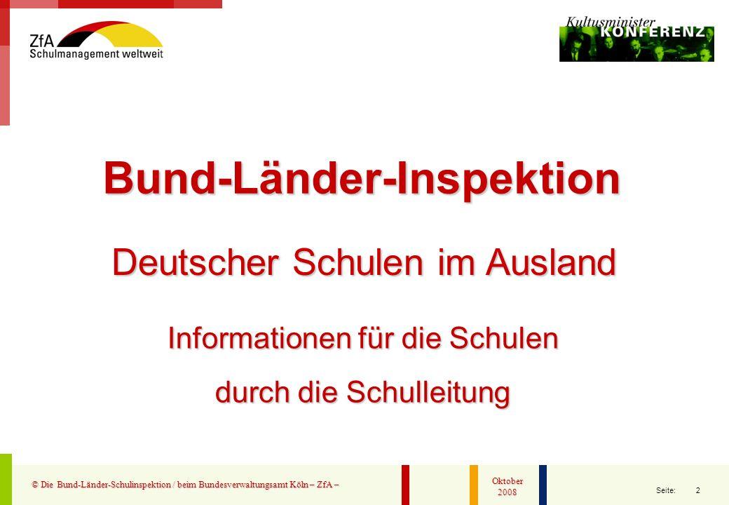 Bund-Länder-Inspektion